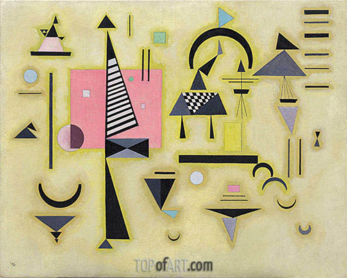 Decisive Rose, 1932 | Kandinsky | Painting Reproduction