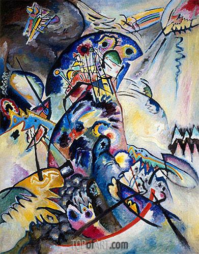 Kandinsky | Blue Comb, 1917