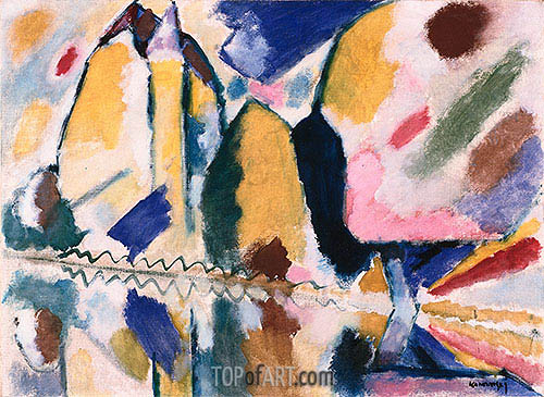 Autumn II, 1912 | Kandinsky | Painting Reproduction