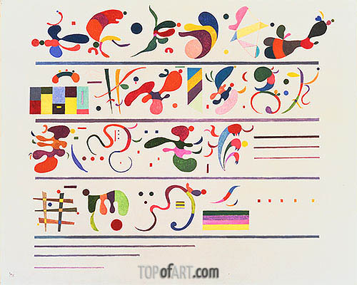 Succession, 1935 | Kandinsky | Painting Reproduction