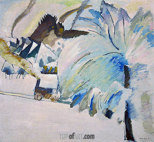 Winter Landscape, 1911 | Kandinsky | Painting Reproduction