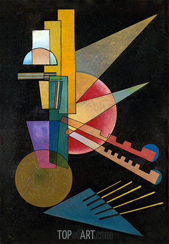 Abstract Interpretation, 1925 | Kandinsky | Painting Reproduction