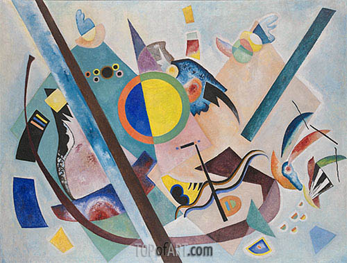 Multicolored Circle, 1921 | Kandinsky| Painting Reproduction