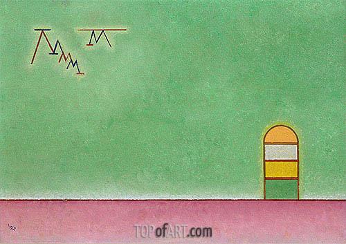 Kandinsky | Green Vacancy, 1930