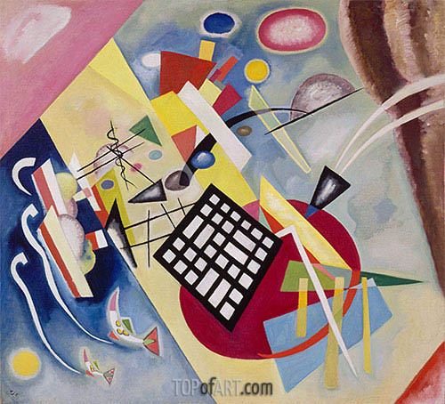 Black Weft, 1922 | Kandinsky| Painting Reproduction