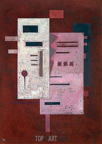 Kandinsky | Soft Harshness, 1933