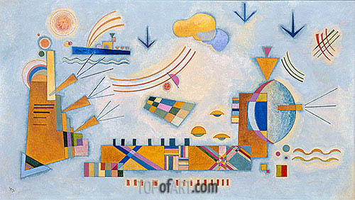 Soft Event, 1928 | Kandinsky | Painting Reproduction