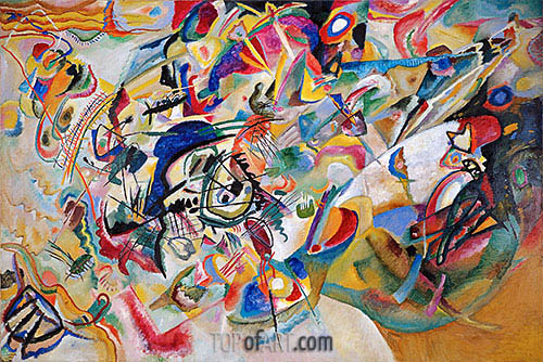 Composition No. 7, 1913 | Kandinsky | Painting Reproduction