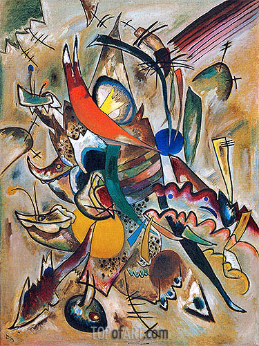 Painting with Points, 1919 | Kandinsky | Painting Reproduction