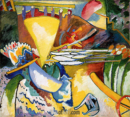 Improvisation 11, 1910 | Kandinsky | Painting Reproduction
