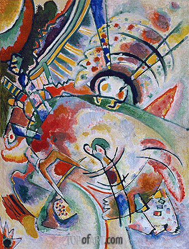 Non-Objective, 1910 | Kandinsky| Painting Reproduction