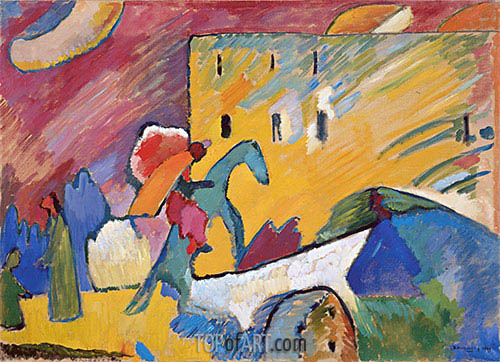 Improvisation 3, 1909 | Kandinsky | Painting Reproduction