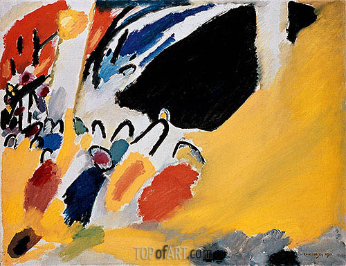 Impression III (Concert), 1911 | Kandinsky | Painting Reproduction