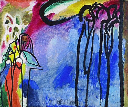 Kandinsky | Improvisation 19, 1911