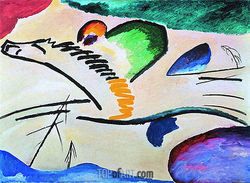 Lyrically, 1911 | Kandinsky| Painting Reproduction