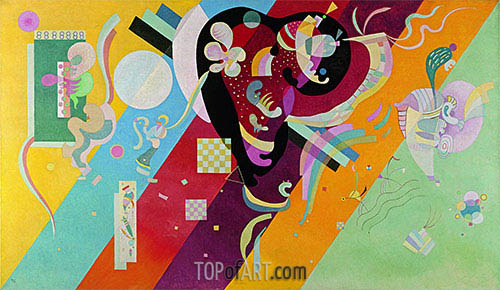 Composition IX, 1936 | Kandinsky | Painting Reproduction