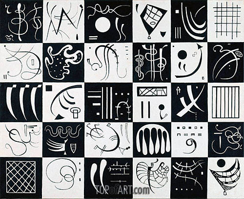 Thirty, 1937 | Kandinsky | Painting Reproduction