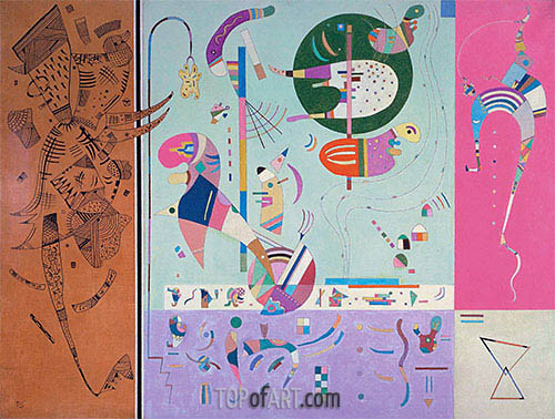 Kandinsky | Various Parts, 1940