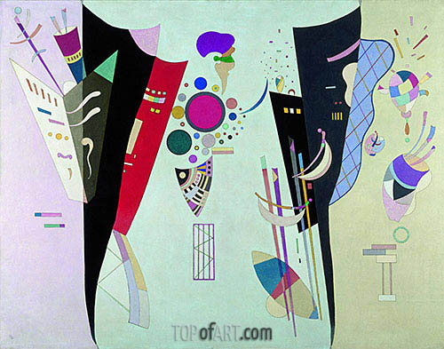 Reciprocal Accords, 1942 | Kandinsky | Painting Reproduction