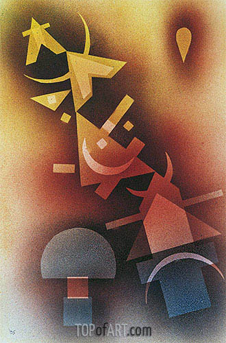 From Cool Depths, 1928 | Kandinsky| Painting Reproduction