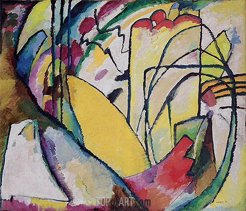Improvisation 10, 1910 | Kandinsky | Painting Reproduction