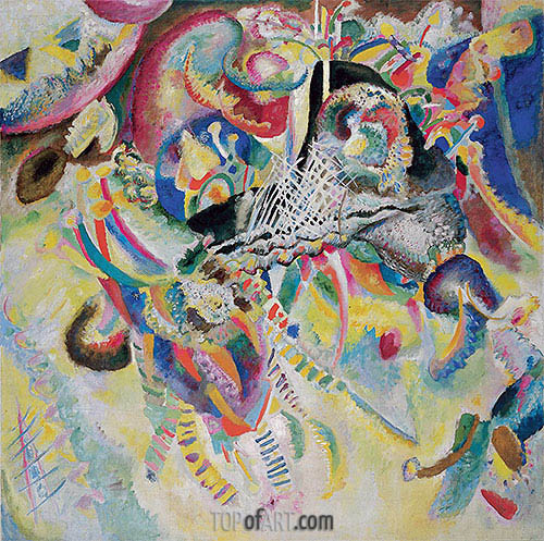 Fuga, 1914 | Kandinsky | Painting Reproduction