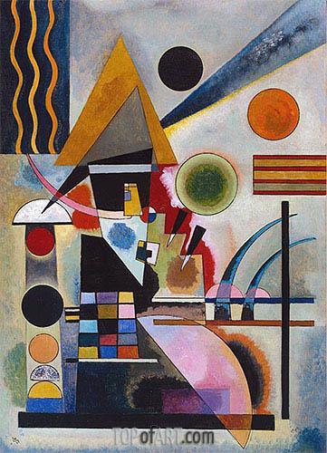 Kandinsky | Swinging, 1925