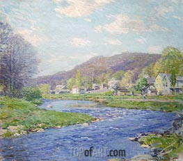 Brook in June | Willard Metcalf | outdated