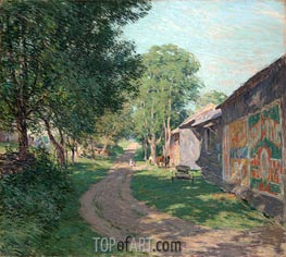 Midsummer Shadows | Willard Metcalf | outdated
