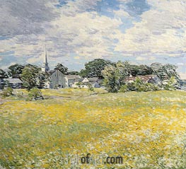 Buttercup Time, 1920 by Willard Metcalf | Painting Reproduction