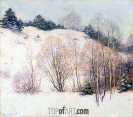 Willows in March | Willard Metcalf | outdated
