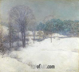 The Enveloping Mantle | Willard Metcalf | Painting Reproduction