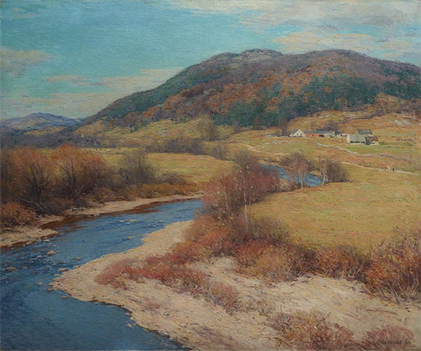 Willard Metcalf | Indian Summer, Vermont, 1922