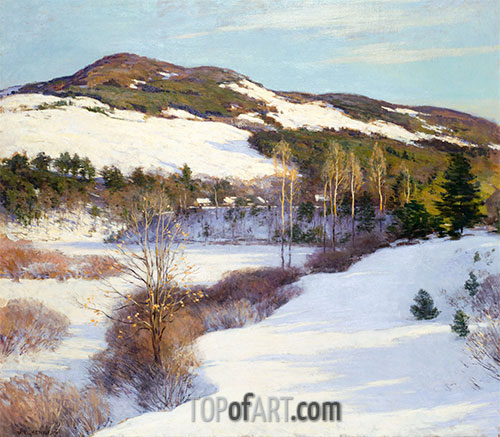 Willard Metcalf | The Cornish Hills, 1911