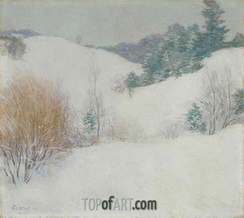 The White Pasture, 1917 | Willard Metcalf | Painting Reproduction