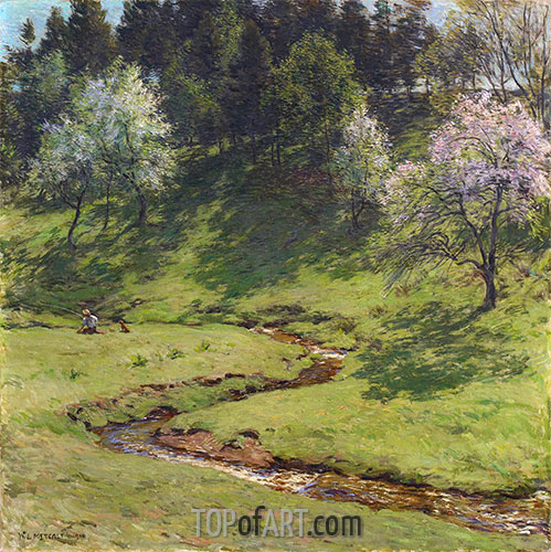 Willard Metcalf | Blossom Time, 1910