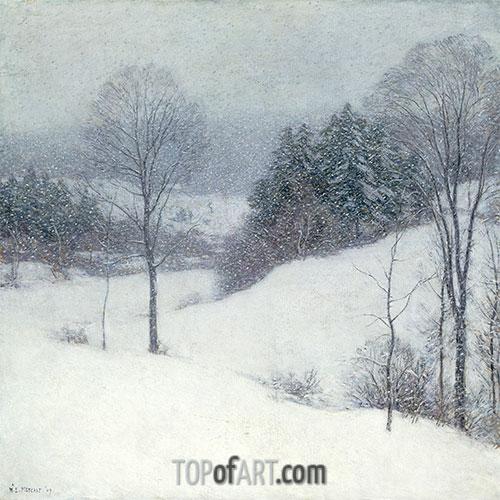 The White Veil, 1909 | Willard Metcalf | Painting Reproduction