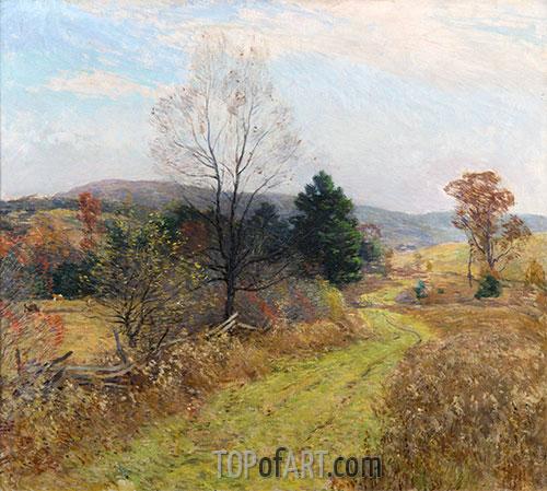 Spätherbst, c.1924 | Willard Metcalf | Gemälde Reproduktion