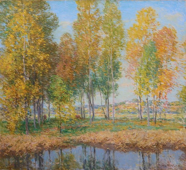 Willard Metcalf | October Festival, 1914