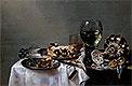 Breakfast Table with Blackberry Pie | Willem Claesz Heda