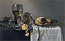 Still Life with Fruit Pie and various Objects | Willem Claesz Heda