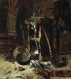 A Kitchen Corner | Willem Kalf | outdated