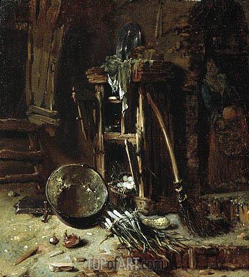 Willem Kalf | A Kitchen Corner, c.1642/44