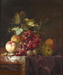 Fruit Still Life, 1661 von Willem van Aelst | Gemälde-Reproduktion