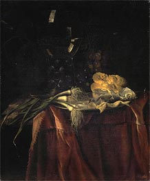 Snack, c.1660/70 by Willem van Aelst | Painting Reproduction