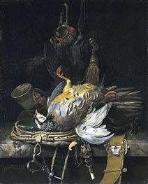 Still Life with Game | Willem van Aelst | Painting Reproduction