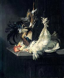 Still Life with Poultry | Willem van Aelst | Painting Reproduction
