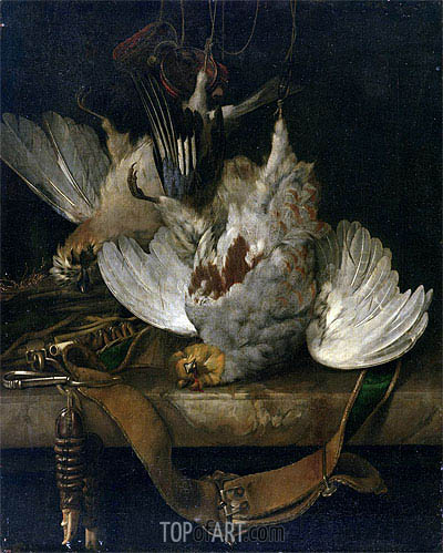 The Bag, 1679 | Willem van Aelst | Gemälde Reproduktion
