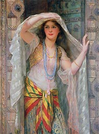 Safie, 1900 by William Clarke Wontner | Painting Reproduction