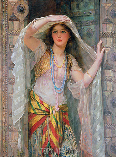 Safie, 1900 | William Clarke Wontner| Gemälde Reproduktion